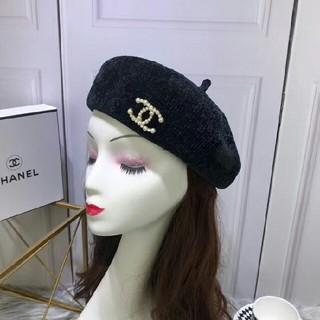 4c36e914f04c シャネル(CHANEL)のシャネル ココマーク フェルト ベレー帽 帽子 ブローチ(ハンチング/