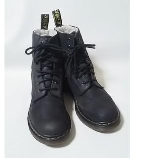 ドクターマーチン(Dr.Martens)の 希少内ボア!ドクターマーチン高級8ホールブーツ人気王道モデル!黒   (ブーツ)