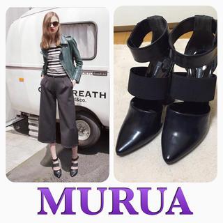 ムルーア(MURUA)のMURUA♡新品DEEPソールパンプス(ハイヒール/パンプス)