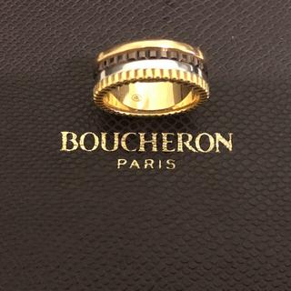 ブシュロン(BOUCHERON)の美品 BOUCHERON キャトル クラシック リング スモール、(リング(指輪))