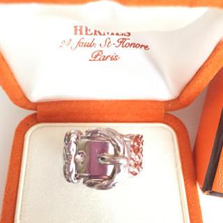 エルメス(Hermes)のエルメス リング ベルトモチーフ シルバー925(リング(指輪))
