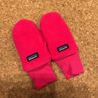 パタゴニア(patagonia)の新品未使用 パタゴニア 手袋 ミトン 6-12m(手袋)
