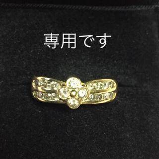ジュエリーマキ(ジュエリーマキ)のK18ダイヤリング  プラチナダイア(リング(指輪))