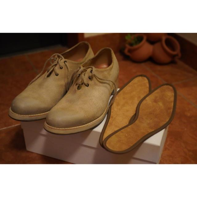 Paul Harnden(ポールハーデン)のCHEREVICHKIOTVICHKI ONE PIECE DERBY  メンズの靴/シューズ(ブーツ)の商品写真