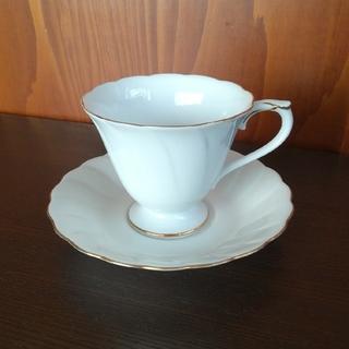 オオクラトウエン(大倉陶園)の大倉陶園 ゴールドラインカップ&ソーサー(グラス/カップ)