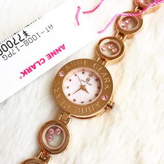 アンクラーク(ANNE CLARK)の未使用☆ ANNE CLARK ダイヤ1P レディース腕時計(腕時計)