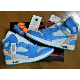 ナイキ(NIKE)のNIKE AIR JORDAN 1 OG THE10 UNC AQ0818-14(スニーカー)