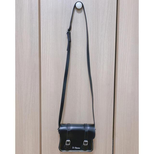Dr.Martens(ドクターマーチン)のDr.Martens★レザーショルダーバッグ★黒★7サッチェル レディースのバッグ(ショルダーバッグ)の商品写真