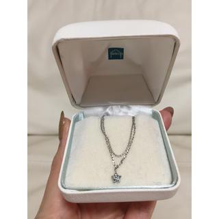 テイクアップ(TAKE-UP)のTake up    ダイヤモンド スター型 ブレスレット ブルー(ブレスレット/バングル)
