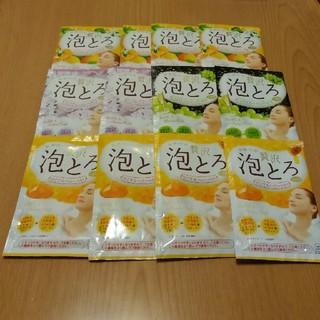 ギュウニュウセッケン(牛乳石鹸)の泡とろ    12個    2400円相当(入浴剤/バスソルト)