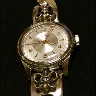 オリス(ORIS)のオリスビッグクラウン&シルバーブレス(925)(腕時計(アナログ))
