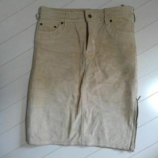 インディオ(indio)のレザースカート indio(ひざ丈スカート)