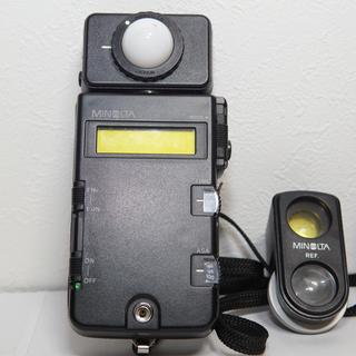 コニカミノルタ(KONICA MINOLTA)のMINOLTA ミノルタ フラッシュメーター III REF ビューファインダー(露出計)