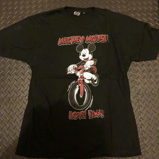 フォーサーティ(430)の430  フォーサーティ  ミッキーコラボ  Tシャツ  サイズL(Tシャツ/カットソー(半袖/袖なし))
