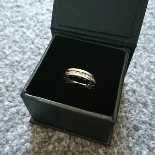 ブルガリ(BVLGARI)のブルガリ Bzero1 フルダイヤ エタニティリング 9号サイズ(リング(指輪))