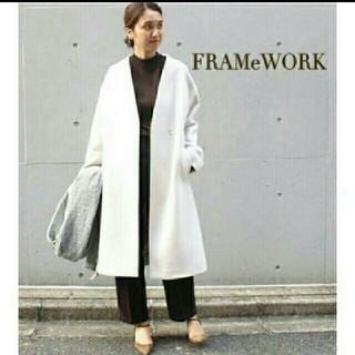 フレームワーク(FRAMeWORK)のフレームワーク 金子綾コラボ 完売 ノーカラーコート(ロングコート)
