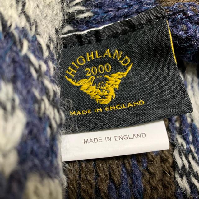 Hiland Club(ハイランドクラブ)のハイランド 2000 ニットポンチョ レディースのジャケット/アウター(ポンチョ)の商品写真