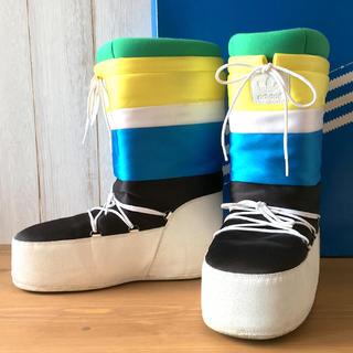 アディダス(adidas)の★美品★アディダス カルロ・グローバー スノー・ウインターブーツ 27.5cm(ブーツ)