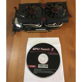 エイスース(ASUS)のASUS GTX1060-DC2O6G [PCIExp 6GB](PCパーツ)