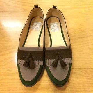 sarasara モカシン(ローファー/革靴)
