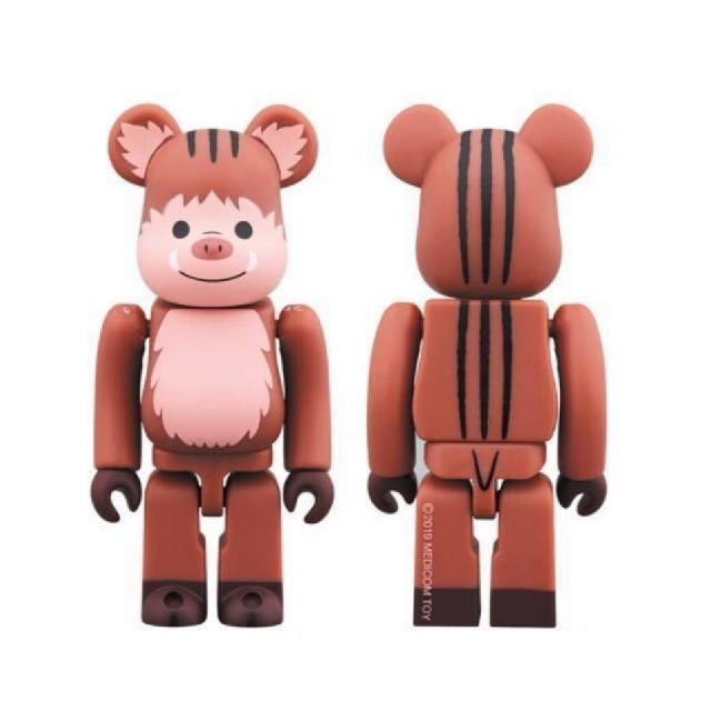 MEDICOM TOY(メディコムトイ)のベアブリック BE@RBRICK 干支 亥 いのしし 100% 猪 スカイツリー エンタメ/ホビーのフィギュア(その他)の商品写真