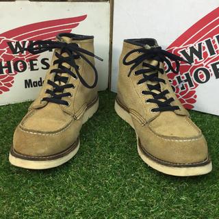 レッドウィング(REDWING)の【安心品質656】レッドウイングREDWING6E送料込24-25cmブーツ(ブーツ)