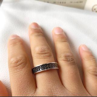 ブラックダイヤ リング(リング(指輪))
