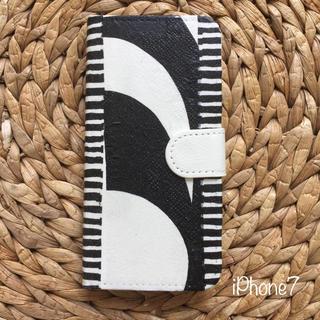 マリメッコ(marimekko)のiPhone7 .8 ハンドメイド マリメッコ 手帳携帯ケース(iPhoneケース)
