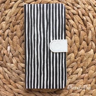マリメッコ(marimekko)のiPhone6 Plus ハンドメイド 手帳携帯ケース(iPhoneケース)