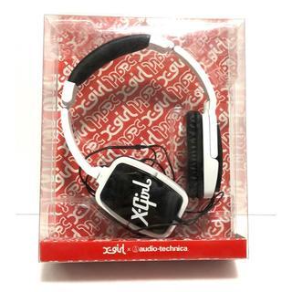 X-girl - X-GIRL × audio-technica エックスガール ヘッドホン