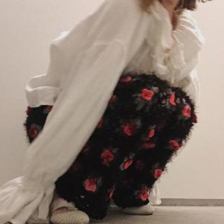 メリージェニー(merry jenny)のるんるん様専用ページ merry jenny ニットお花柄パンツ ニットパンツ(その他)