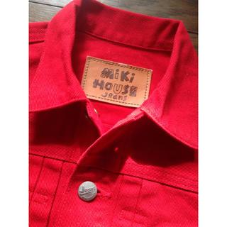 ミキハウス(mikihouse)の★美品★ミキハウス jeans 110 デニムGジャン ジャケット(ジャケット/上着)