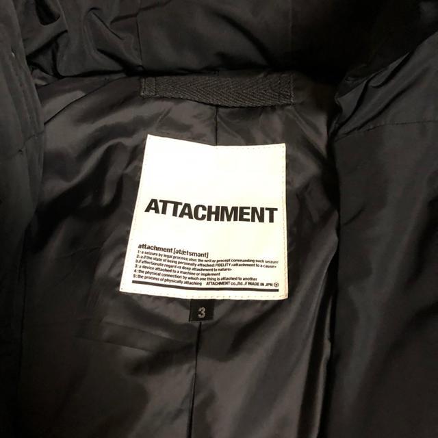 ATTACHIMENT(アタッチメント)のAttachment ダウンジャケット メンズのジャケット/アウター(ダウンジャケット)の商品写真