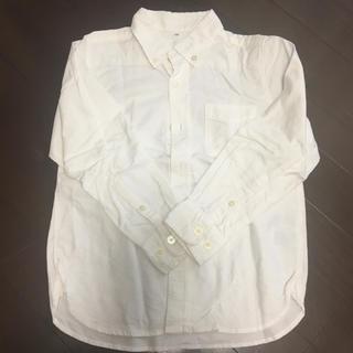 ムジルシリョウヒン(MUJI (無印良品))の無印良品 白シャツ 120(ブラウス)