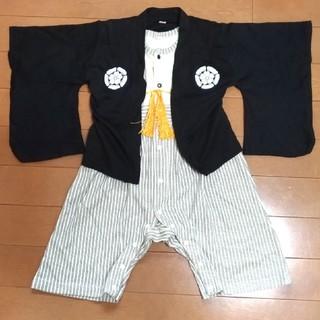 ベルメゾン(ベルメゾン)の袴ロンパース 80サイズ(和服/着物)