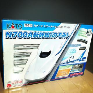 カトー(KATO`)の美品【1回試験走行のみ】KATO N700A スターターセット・スペシャル(鉄道模型)