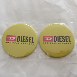 ディーゼル(DIESEL)のディーゼル缶バッジ2個(その他)