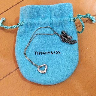 ティファニー(Tiffany & Co.)のティファニー オープンハート  ネックレス(ネックレス)