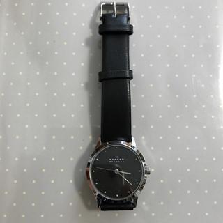 スカーゲン(SKAGEN)のSKAGEN 腕時計 ブラック(腕時計)
