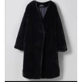 ジーナシス(JEANASIS)のジーナシス 新品未使用品のファーコート(毛皮/ファーコート)