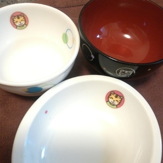 タチキチ(たち吉)のしまじろう たち吉コラボ 子供用食器セット(プレート/茶碗)