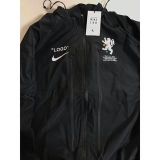 オフホワイト(OFF-WHITE)のナイキ オフホワイト track jacket nike off-white (ナイロンジャケット)
