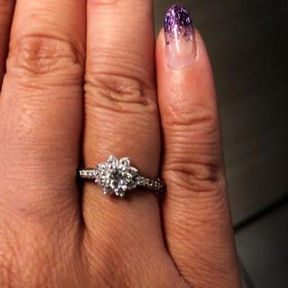 ティファニー(Tiffany & Co.)のティファニー フローラ ダイヤ リング(リング(指輪))