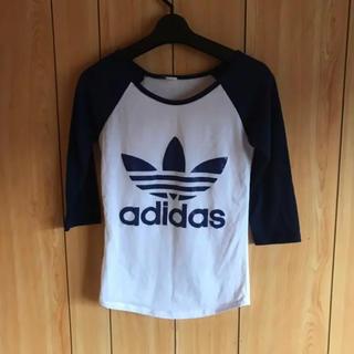 アディダス(adidas)のadidas ラグランTシャツ 七分袖(Tシャツ(長袖/七分))
