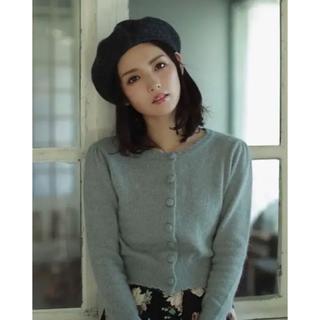エブリン(evelyn)のベレー帽♡ブラック♡被るだけで可愛くキュートに♡ガーリーコーデに♡モテコーデに♡(ハンチング/ベレー帽)