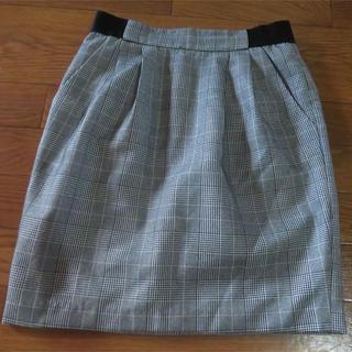 カプリシューレマージュ(CAPRICIEUX LE'MAGE)の送料無料❤️CAPRICIEUX LEMAGE チェックタイトスカート(ひざ丈スカート)