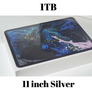 アイパッド(iPad)の●iPad Pro第3世代/11インチ/1TB/シルバー/Wi-Fi版(タブレット)