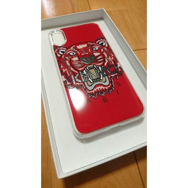 KENZO - ★新品正規品 KENZO iPhoneX/XSケースタイガーレッドの通販 by ビスケショップ|ケンゾーならラクマ