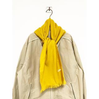 vintage ヴィンテージ ビンテージ マスタードイエロー 黄色 マフラー