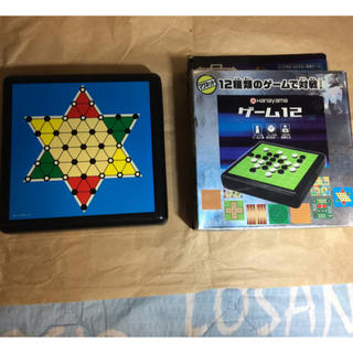 ポータブルシリーズ マグネット12種類のゲームで対戦!(オセロ/チェス)